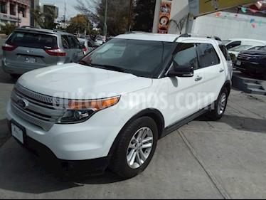 Foto venta Auto Seminuevo Ford Explorer XLT Piel (2013) color Blanco precio $281,000