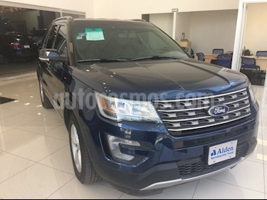 Foto venta Auto usado Ford Explorer XLT Piel (2017) color Azul precio $505,000