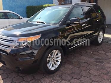 Ford Explorer XLT Piel usado (2012) color Negro precio $259,000