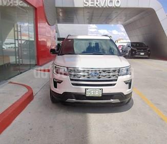 Foto Ford Explorer XLT Piel usado (2018) color Blanco Platinado precio $485,000