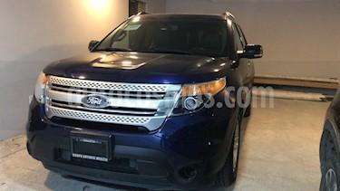 Foto venta Auto usado Ford Explorer XLT Piel (2011) color Azul precio $200,000