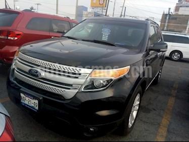 Foto venta Auto Seminuevo Ford Explorer XLT Tela (2014) color Negro precio $330,000