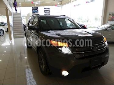 Foto venta Auto usado Ford Explorer XLT Tela (2014) color Gris precio $315,000