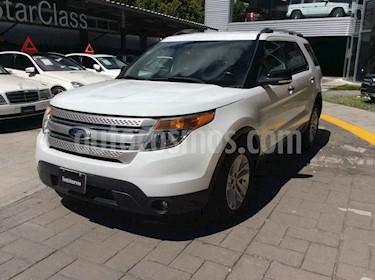 Ford Explorer XLT Tela usado (2014) color Blanco precio $285,000