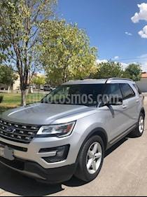 Foto venta Auto usado Ford Explorer XLT Tela (2016) color Plata Estelar precio $350,000