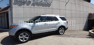 Foto venta Auto usado Ford Explorer XLT Tela (2014) color Plata precio $369,000