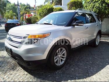 Foto venta Auto usado Ford Explorer XLT Tela (2015) color Plata Estelar precio $315,000