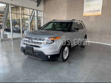 Ford Explorer XLT Tela usado (2015) color Plata precio $289,000