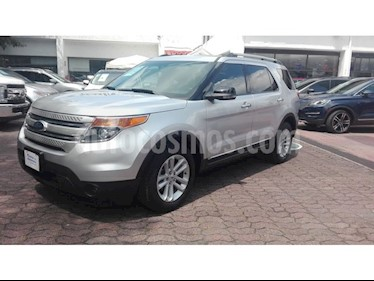 Foto venta Auto usado Ford Explorer XLT (2013) color Plata precio $249,000