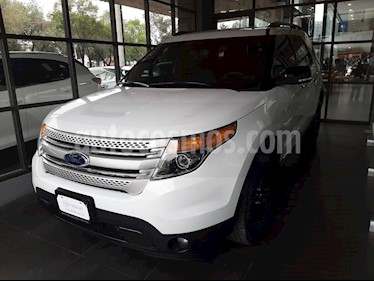 Foto venta Auto usado Ford Explorer XLT (2014) color Blanco Platinado precio $277,000