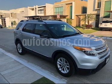 Foto venta Auto usado Ford Explorer XLT (2013) color Plata Estelar precio $285,000