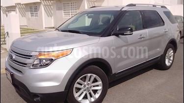 Foto venta Auto usado Ford Explorer XLT (2014) color Plata precio $260,000