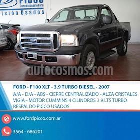Foto venta Auto usado Ford F-100 4x2 XLT TDi 3.9L (2007) color Gris Oscuro precio $590.000