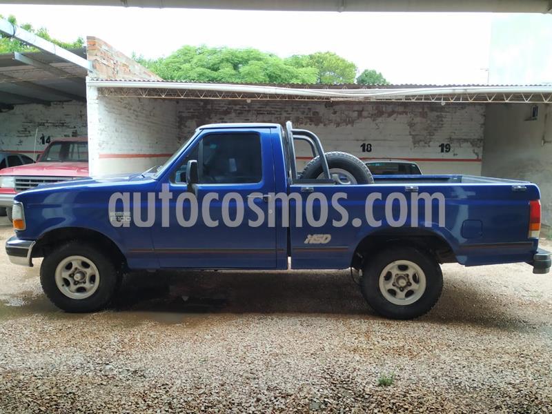 Ford F-100 3.9L DSL 4x2 XL Cummins usado (1998) color Azul precio $300.000