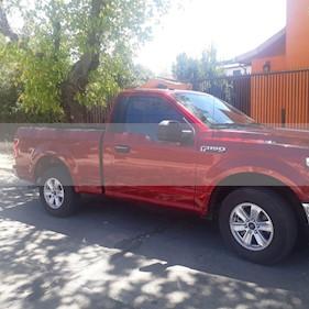 Ford F-150 3.3L XLT CC 4x2   usado (2019) color Rojo precio $15.500.000