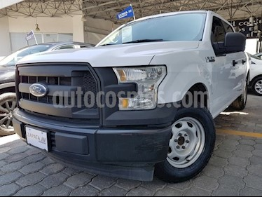 Ford F-150 3.7 XL REG 4X2 V6 AT usado (2017) color Blanco precio $449,000