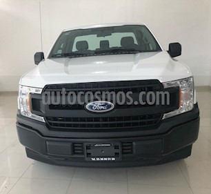 Ford F-150 Cabina Regular 4x2 V6 usado (2018) color Blanco Oxford precio $89,000