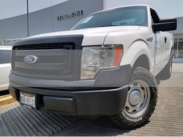 Foto Ford F-150 Cabina Regular 4x2 V6 usado (2014) color Blanco Oxford precio $250,000