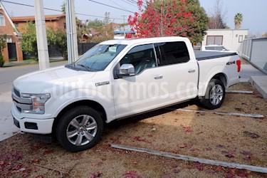 Ford F-150 Platinum 3.5L 4x4  usado (2019) color Blanco precio $35.000.000