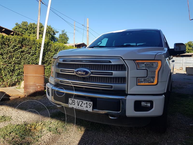 Ford F-150 3.5L Platinum 4x4  usado (2017) color Blanco precio $31.990.000