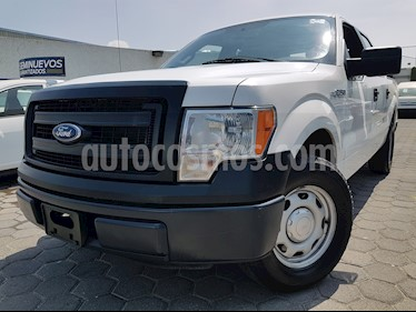 Foto Ford F-150 Doble Cabina 4x2 V6 usado (2014) color Blanco Oxford precio $295,000