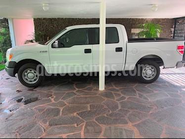 Foto venta Auto usado Ford F-150 Doble Cabina 4x2 V8 (2014) color Blanco Oxford precio $325,000