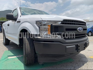 Ford F-150 Cabina Regular 4x2 V6 usado (2019) color Blanco precio $499,999