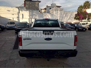 Ford F-150 2p XL Cab. Regular 4x4 V6/3.5 Aut usado (2017) color Blanco precio $365,000