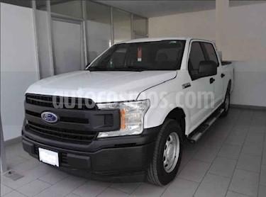 Ford F-150 2p XL Crew Cab. 4x2 V6/3.5 Aut usado (2018) color Blanco precio $435,000