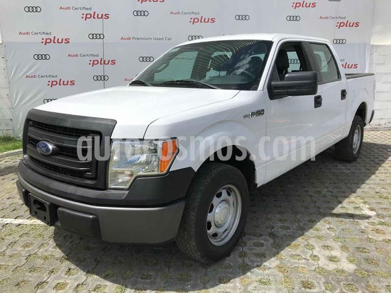 Ford F-150 XL 4x2 3.7L Doble Cabina usado (2014) color Blanco precio $285,000