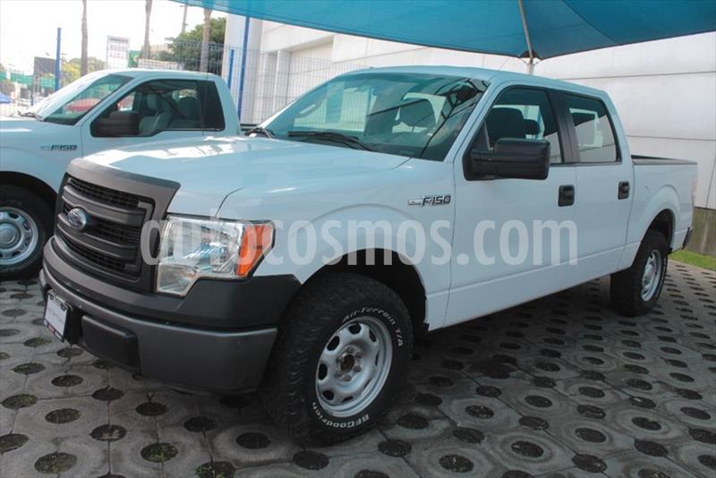 Ford F-150 XL SUP CAB 4X2 5.0L V8 usado (2014) color Blanco precio $299,000