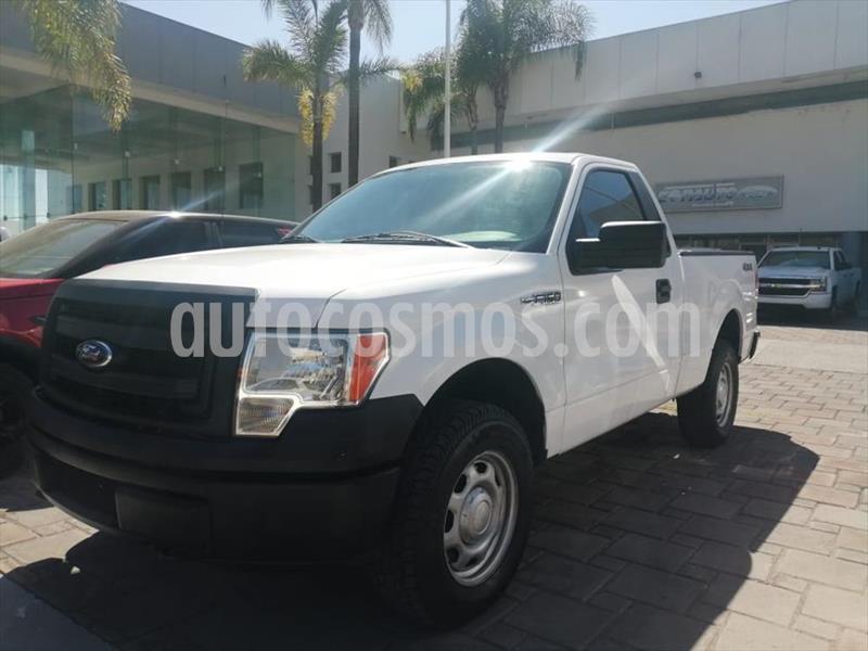 Ford F-150 XL REG CAB 4X4 5.0L V8 usado (2014) color Blanco precio $244,000