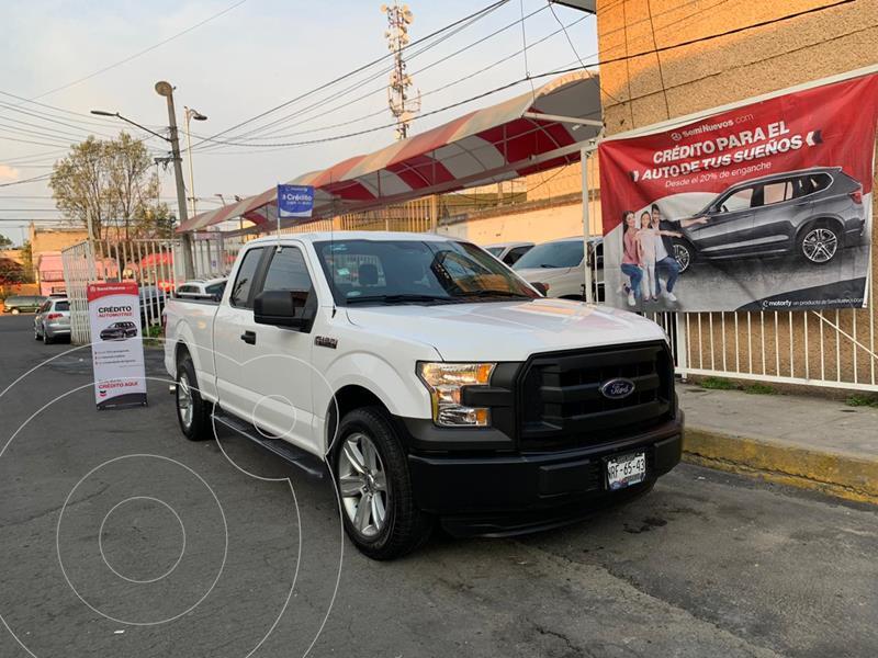Ford F-150 Cabina y Media 4x2 V8 usado (2016) color Blanco precio $390,000