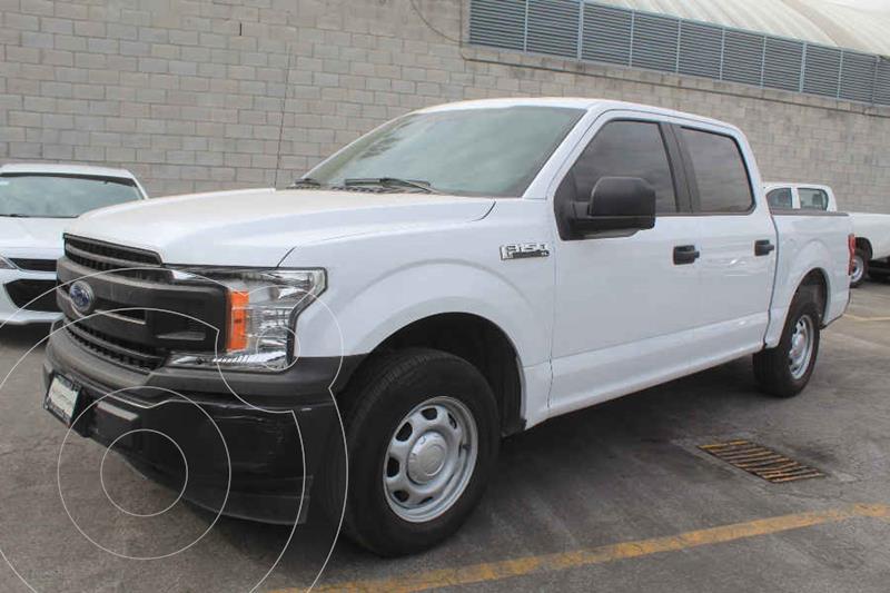 Ford F-150 XL 4x2 3.7L Doble Cabina usado (2019) color Blanco precio $409,000