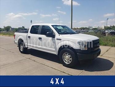 Ford F-150 XL CREW CAB 4X4 5.0L V8 usado (2017) color Blanco precio $395,000