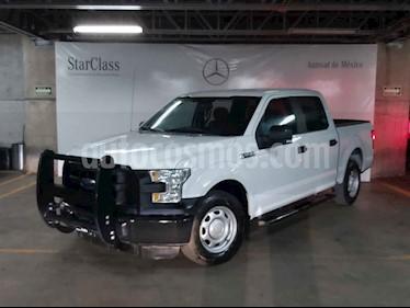 Ford F-150 4p XL Crew Cab 4x2 V8/5.0 Aut usado (2015) color Blanco precio $339,000