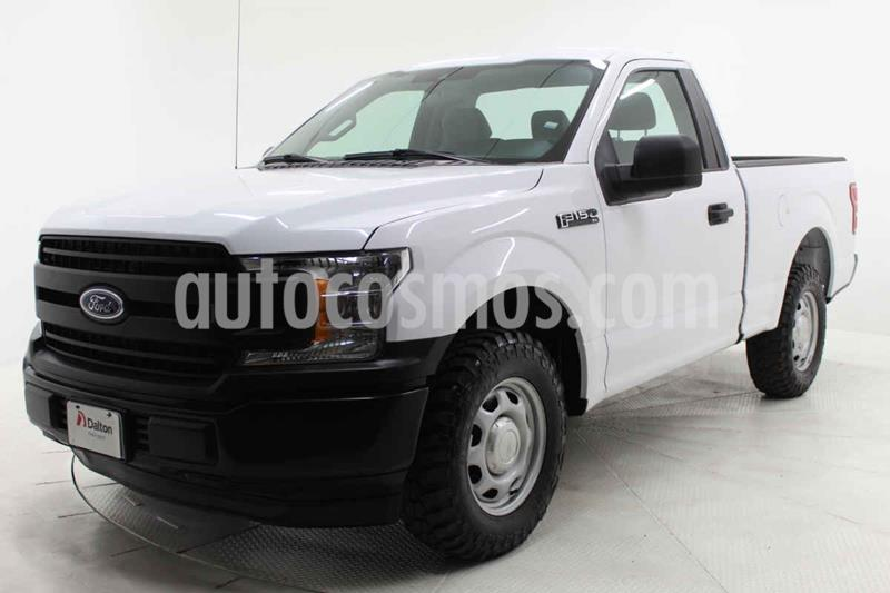 Ford F-150 XL 4x2 3.7L Cabina Regular usado (2019) color Blanco precio $453,000