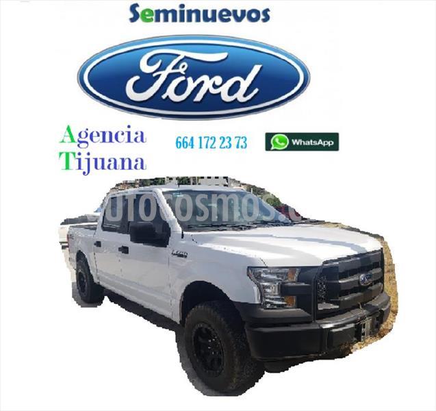 Ford F-150 XL CREW CAB 4X2 3.5L V6 usado (2016) color Blanco precio $350,000