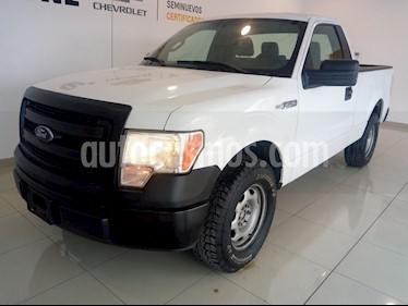 Ford F-150 XL 4x2 3.7L Cabina Regular usado (2014) color Blanco precio $240,000