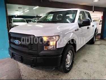 Ford F-150 XL 4x4 5.0L Crew Cabina usado (2016) color Blanco precio $379,900