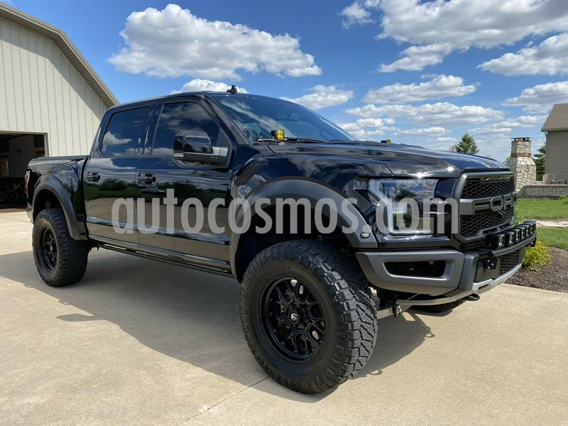 Ford F-150 Raptor Doble Cabina 4x4 usado (2019) color Negro precio $900,000