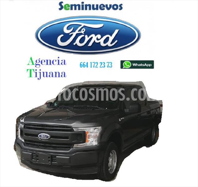 Ford F-150 XL CREW CAB 4X2 3.5L V6 usado (2018) color Gris precio $430,000