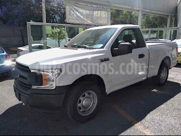 Ford F-150 2p XL Cab. Regular 4x2 V6/3.5 Aut usado (2018) color Blanco precio $440,000