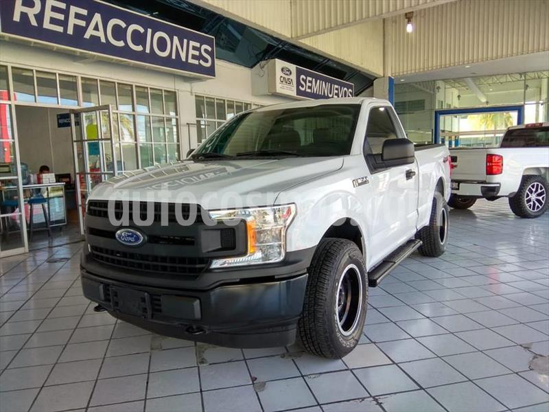 Ford F-150 XL REG CAB 4X4 3.5L V6 usado (2018) color Blanco precio $425,000