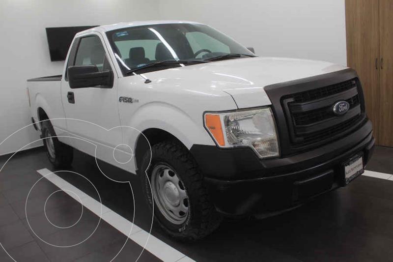 Ford F-150 XL 4x2 3.7L Cabina Regular usado (2014) color Blanco precio $225,000