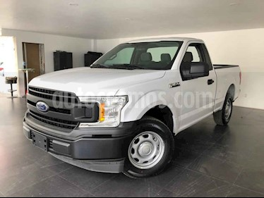 Ford F-150 2p XL Cab. Regular 4x2 V6/3.5 Aut usado (2018) color Blanco precio $450,000