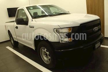 Ford F-150 2p XL Cab. Regular 4x2 V6/3.5 Aut usado (2017) color Blanco precio $385,000