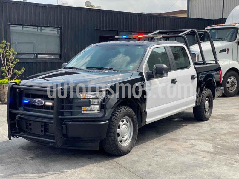 Ford F-150 XL 4x2 3.7L Doble Cabina usado (2017) color Negro precio $299,800