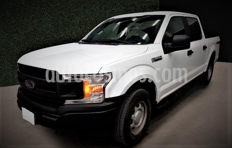 Ford F-150 XL 4x4 5.0L Crew Cabina usado (2019) color Blanco precio $609,999