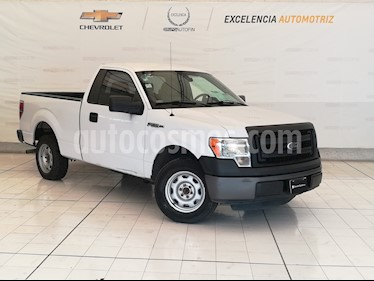 Ford F-150 XL 4x2 3.7L Cabina Regular usado (2014) color Blanco Oxford precio $210,000